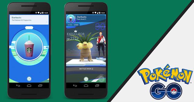 Starbucks, McDonald's, Pokéstops, PokéGym, Pokémon, Pokémon Go, Niantic, Nintendo, Gen2 Pokémon, game, Pokémon update, new Pokémon, augmented reality
