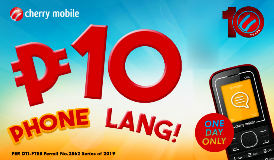 Cherry Mobile 10 Pesos Phone