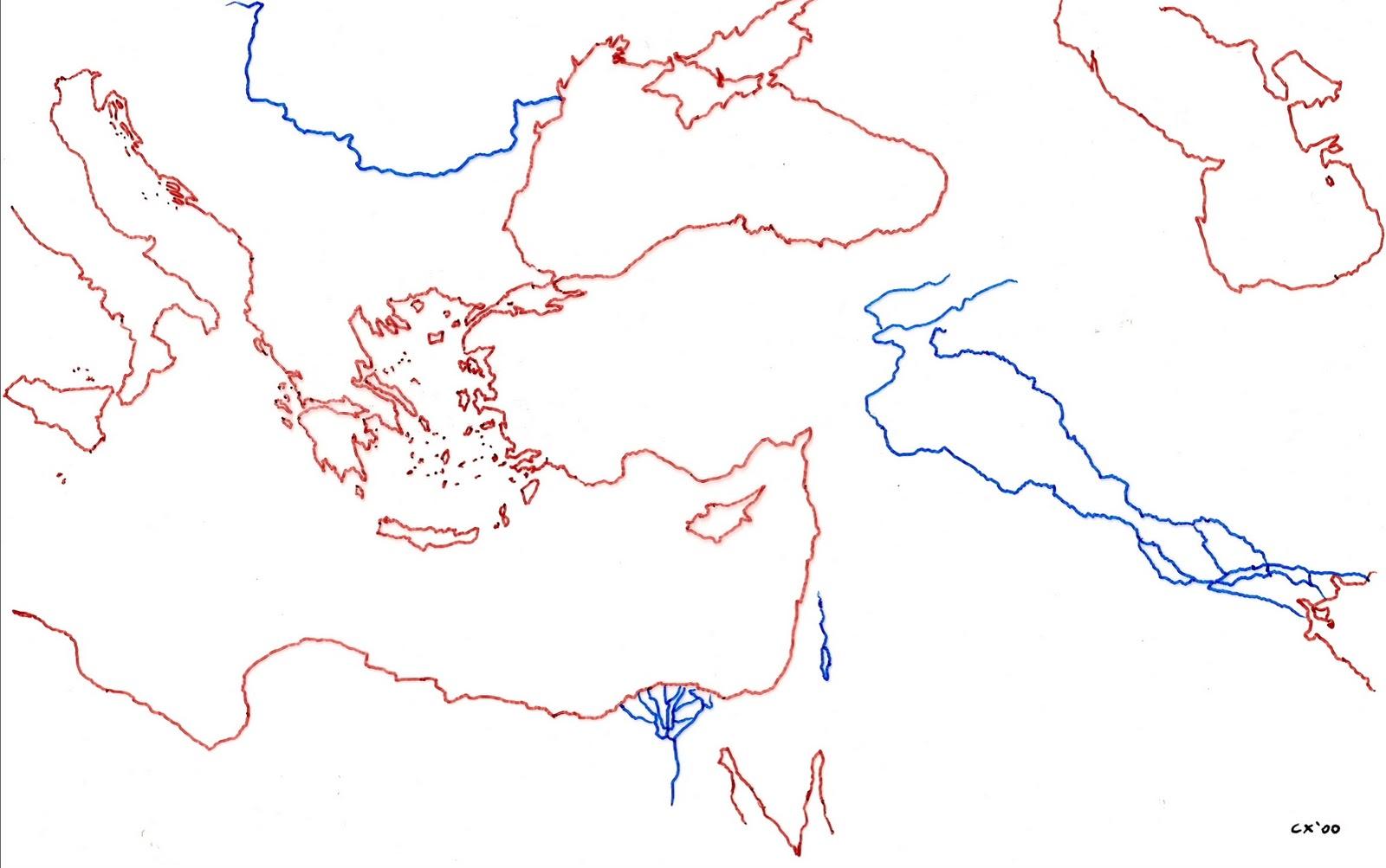 La Dispersión De Cercano Oriente Al Mundo Ii 1: Profesor De Historia, Geografía Y Arte: Mapas De Las