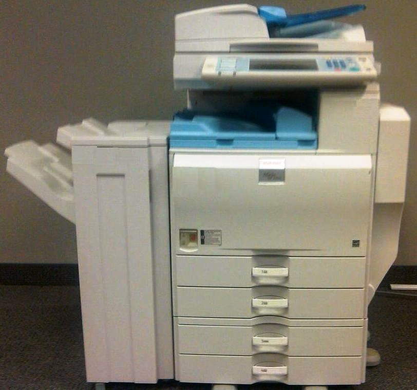 Tech in Check: How to set up scan to email on a Ricoh MP series copier
