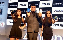 ASUS Launched Zenfone Live with Live Video Beautification for Rs 9999