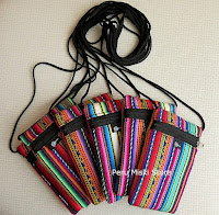 Padded bags for cell phones