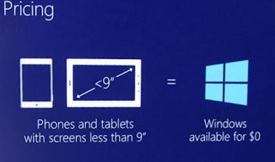 مايكروسوفت ترفع دعم ويندوز 10 موبايل إلى شاشات 9 بوصة