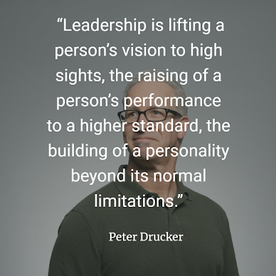 Leadership is lifting a person's vision to high sights,