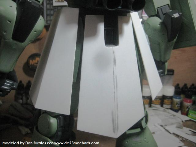 1/48 ZAKU project WIP photo