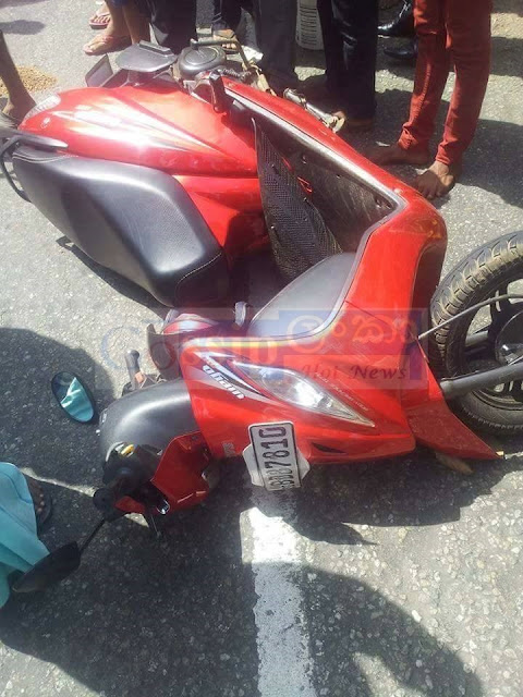 Women Killed In bike accident in Balavinna