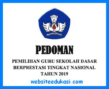 Pedoman Guru Berprestasi SD 2019