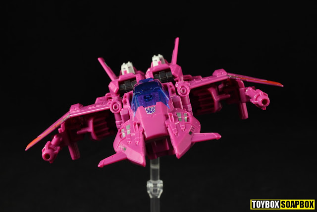 titans return Misfire jet nose