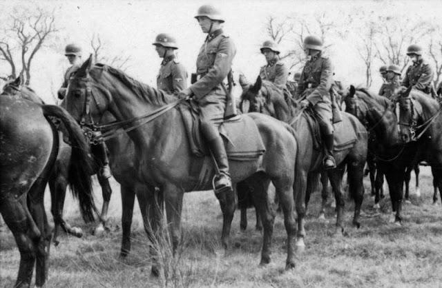 Horses in World War II worldwartwo.filminspector.com SS Cavalry