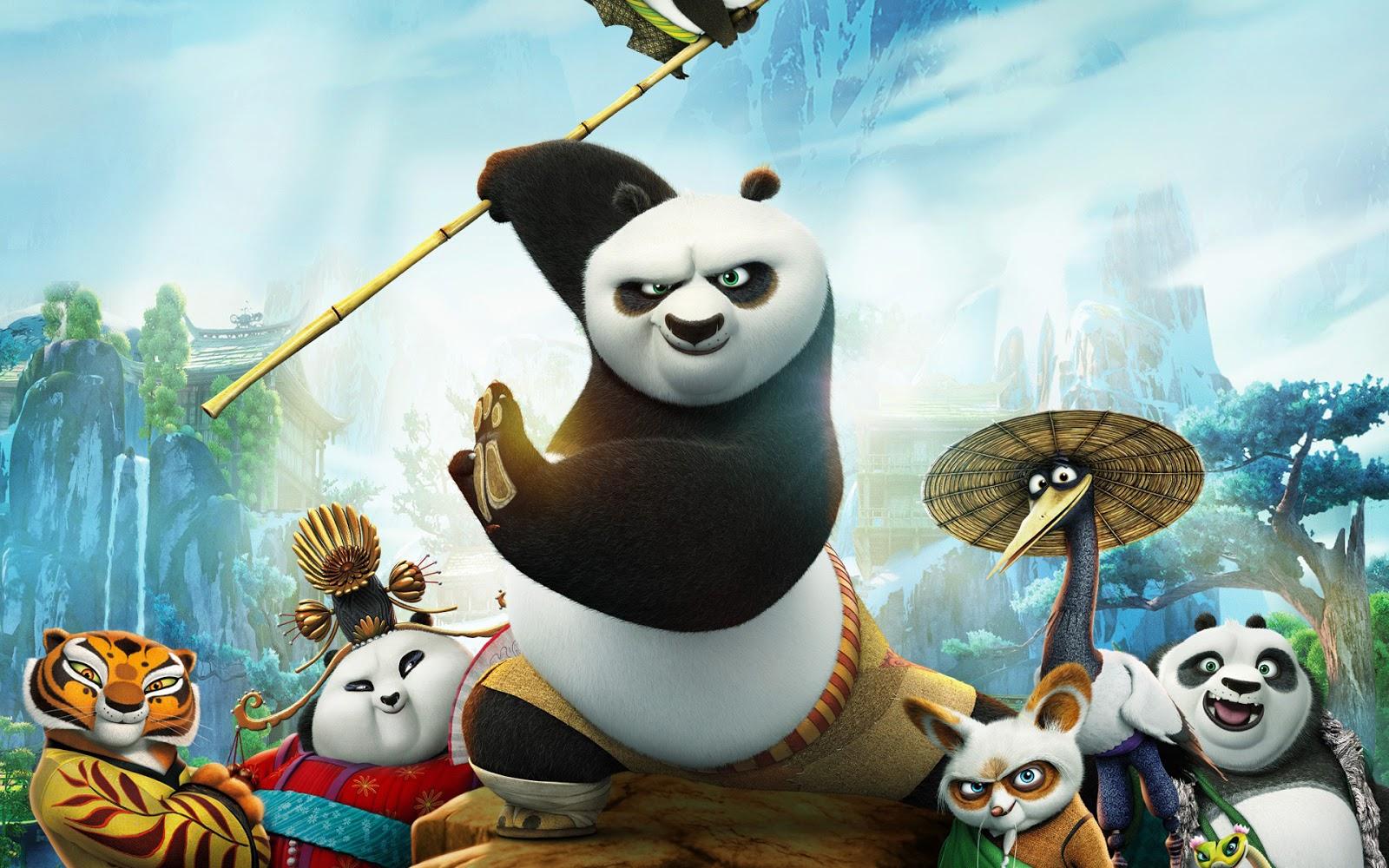 مشاهدة فيلم Kung Fu Panda 3 اون لاين مباشرة Dvd بدون تحميل