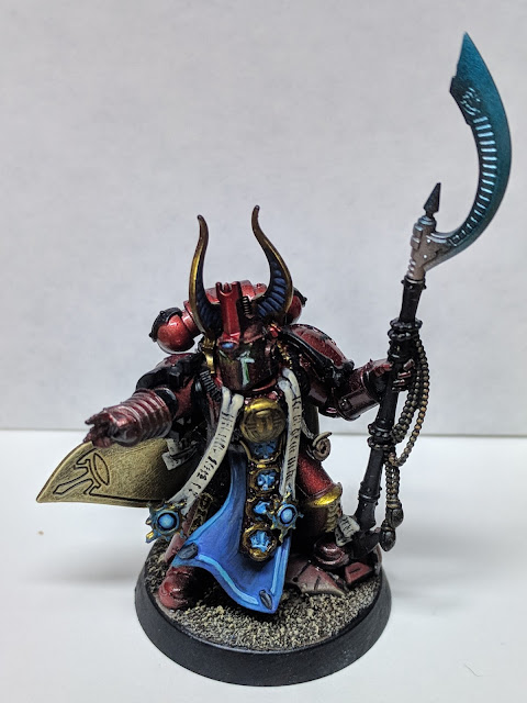 Finished Ahriman standing tall