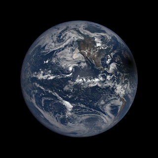 Solar Eclipse seen by DSCOVR Observatory