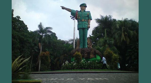 Asyiknya Bermain di Taman Ahmad Yani Medan