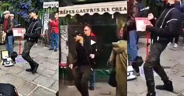 هذا ما فعله  سعد لمجرد في شوارع باريس بعد أول يوم من إطلاق سراحه