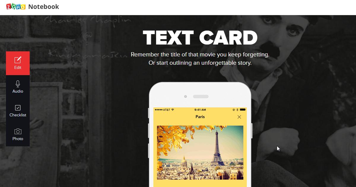 Zoho Notebook 就像打開真的手帳,新筆記 App 評析