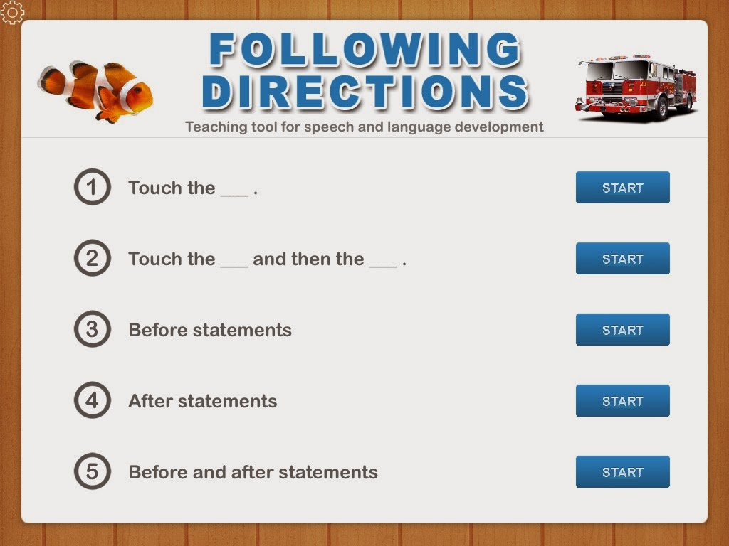 Following Directions App Review