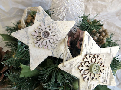 Christmas star ornaments