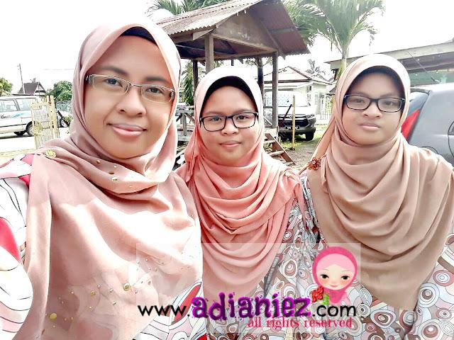 Riang Ria Di Hari Raya Pertama | Maaf Zahir Batin