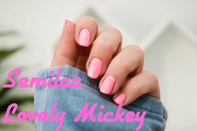 131 UV Hybrid Semilac Lovely Mickey