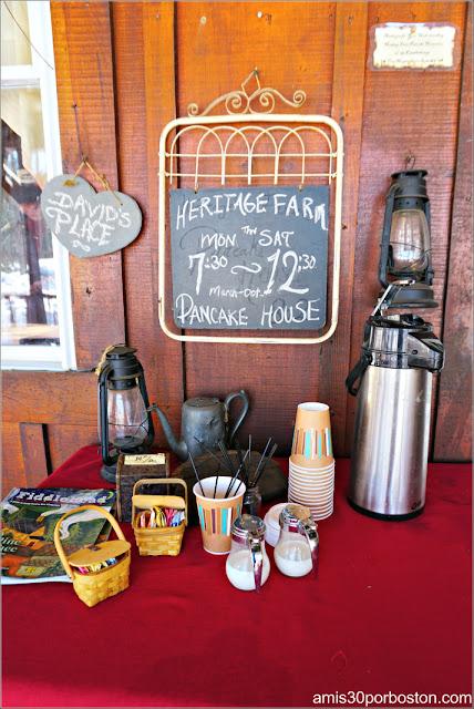Café en la Granja Heritage Farm Pancake House, New Hampshire