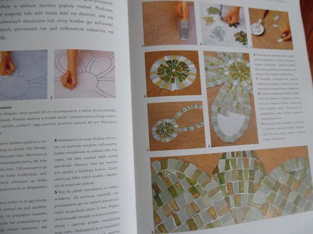 mozaika stół