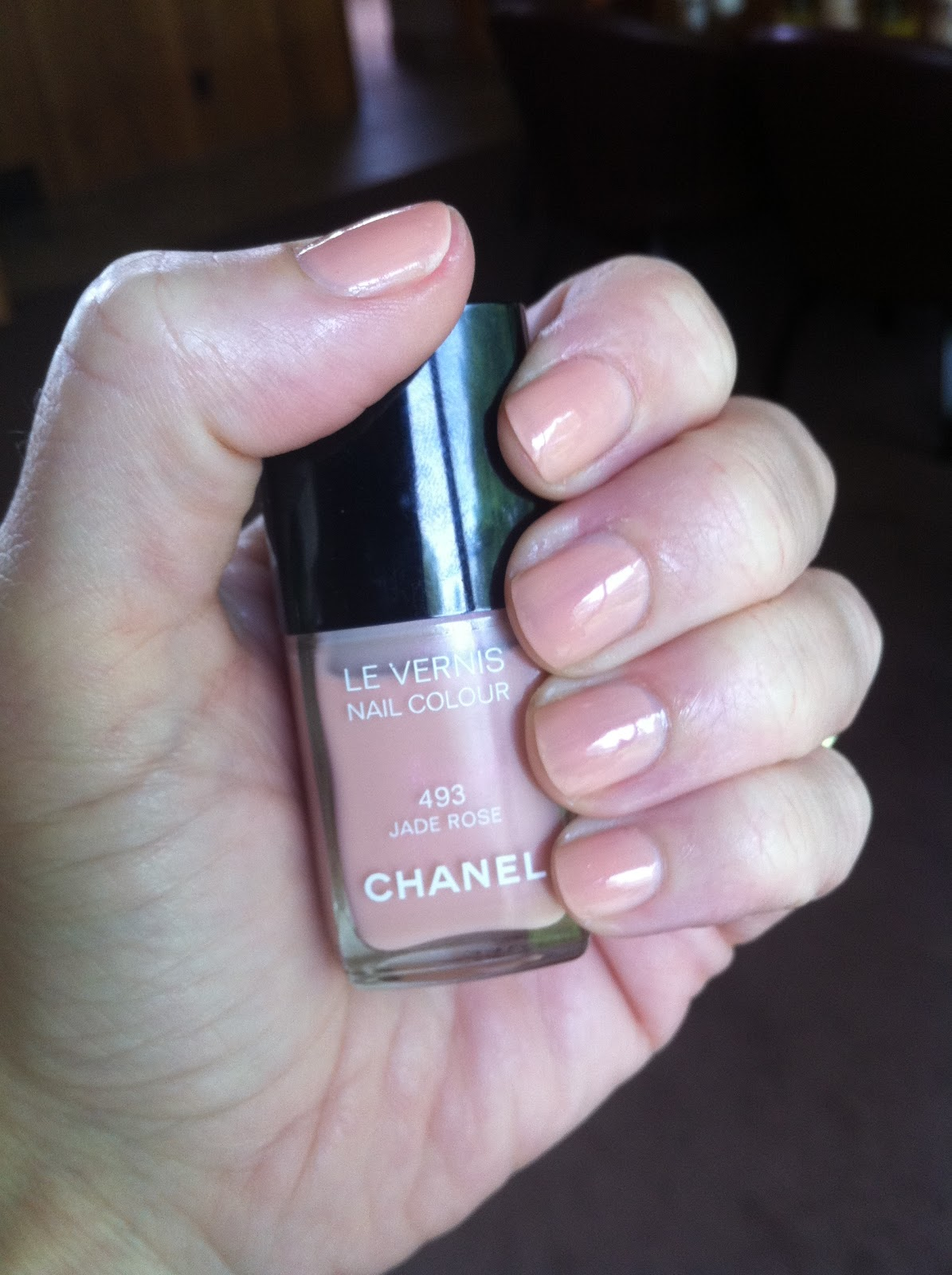 The Beautiful Chanel Jade Rose Nail Polish | Daly Beauty