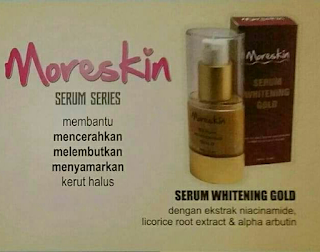 MORESKIN SERUM WHITHENING GOLD DAN MORESKIN SERUM SERIES