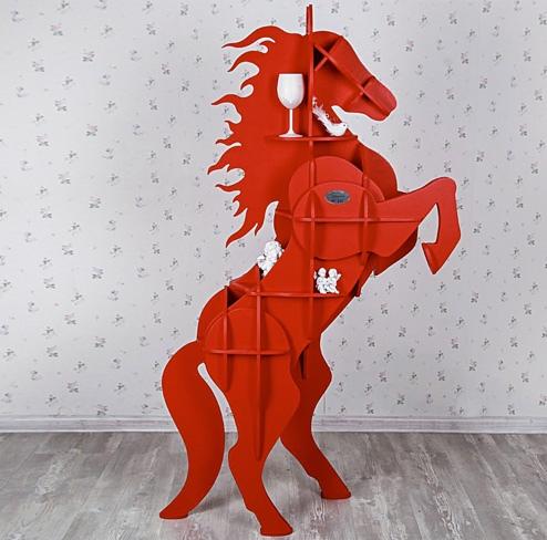 horse shelf free dxf file for laser and plasma - cnc world