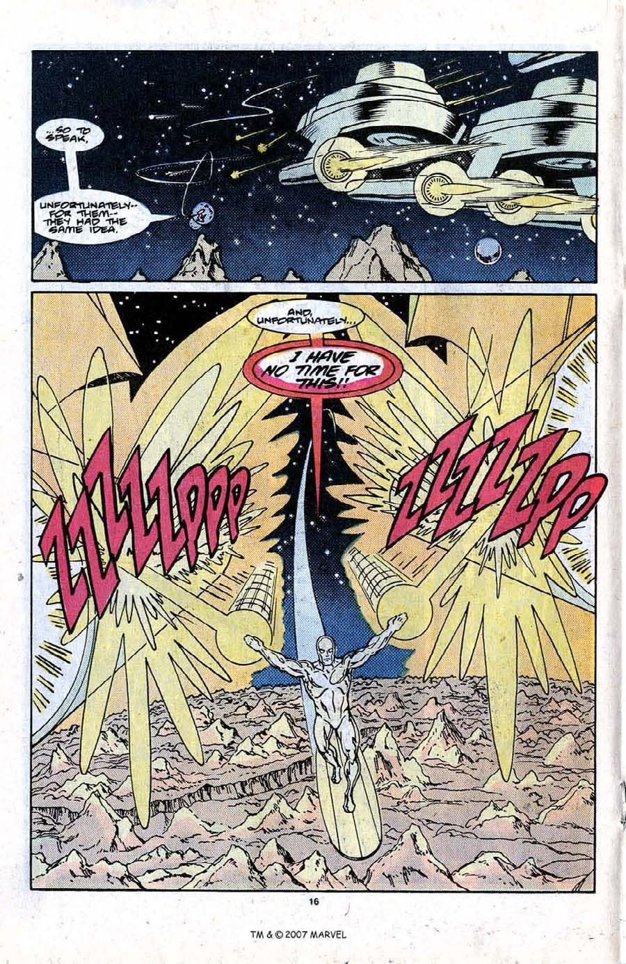 Read online Silver Surfer (1987) comic -  Issue #21 - 18