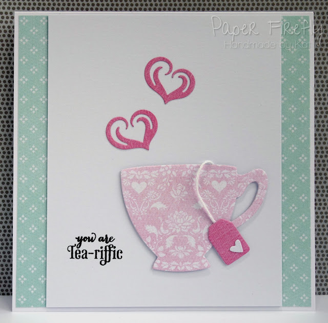 Tea-riffic teacup card
