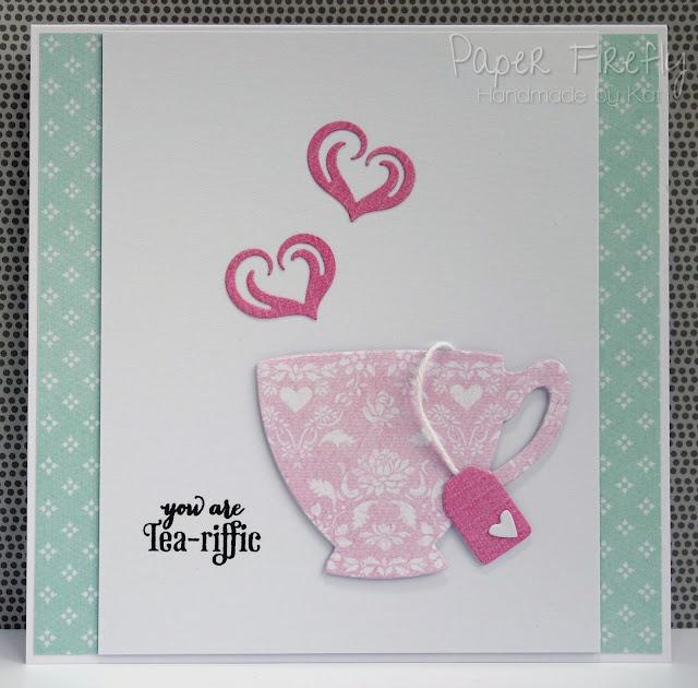 Tea-riffic teacup card