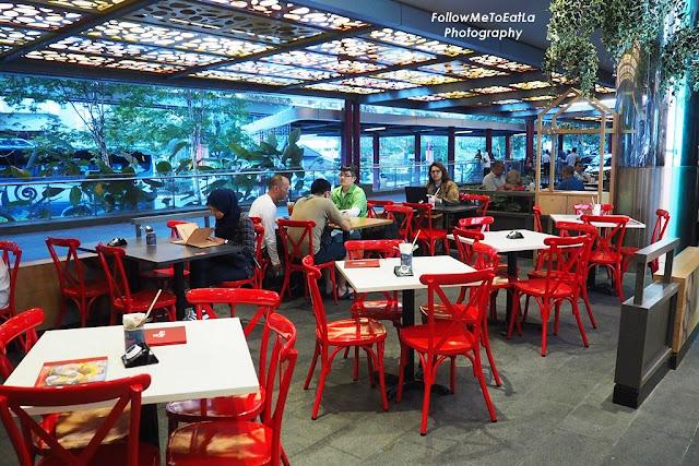 Sepiring Restaurant Sunway Putra Mall