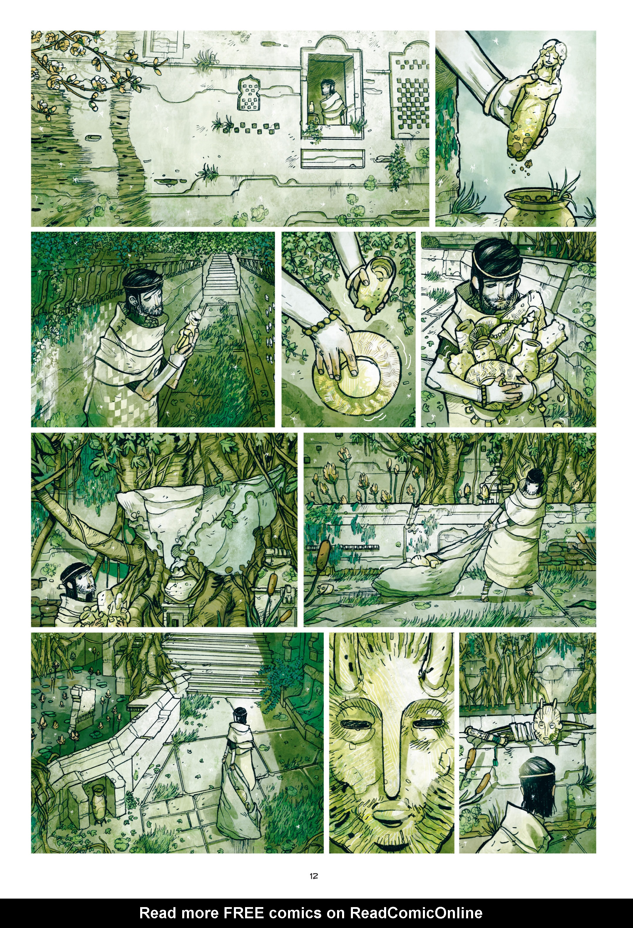 Read online Adrastée comic -  Issue #1 - 13