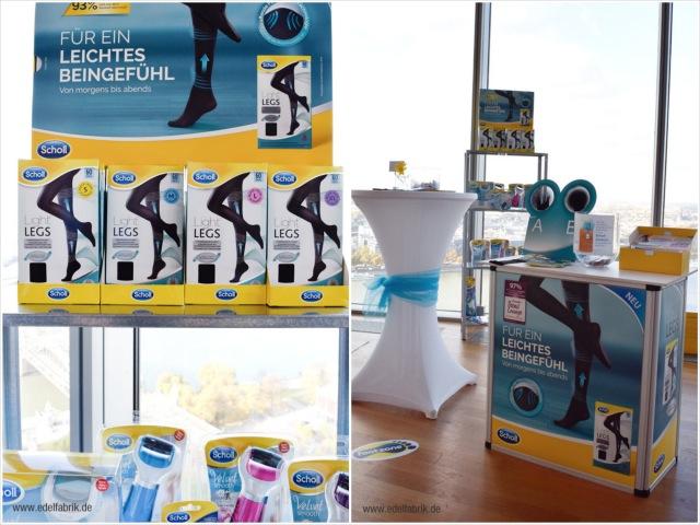 neue Produkte von Scholl auf dem Beautypress Bloggerevent in Köln