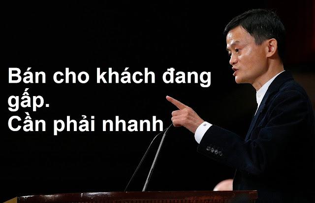 BÍ quyết bán hàng của tỷ phú Jack Ma