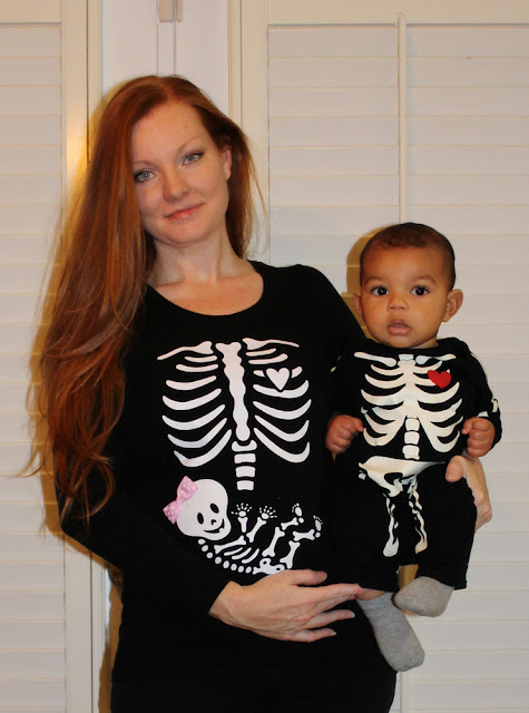 Do It Yourself halloween costumes for pregnant and newborn babies
