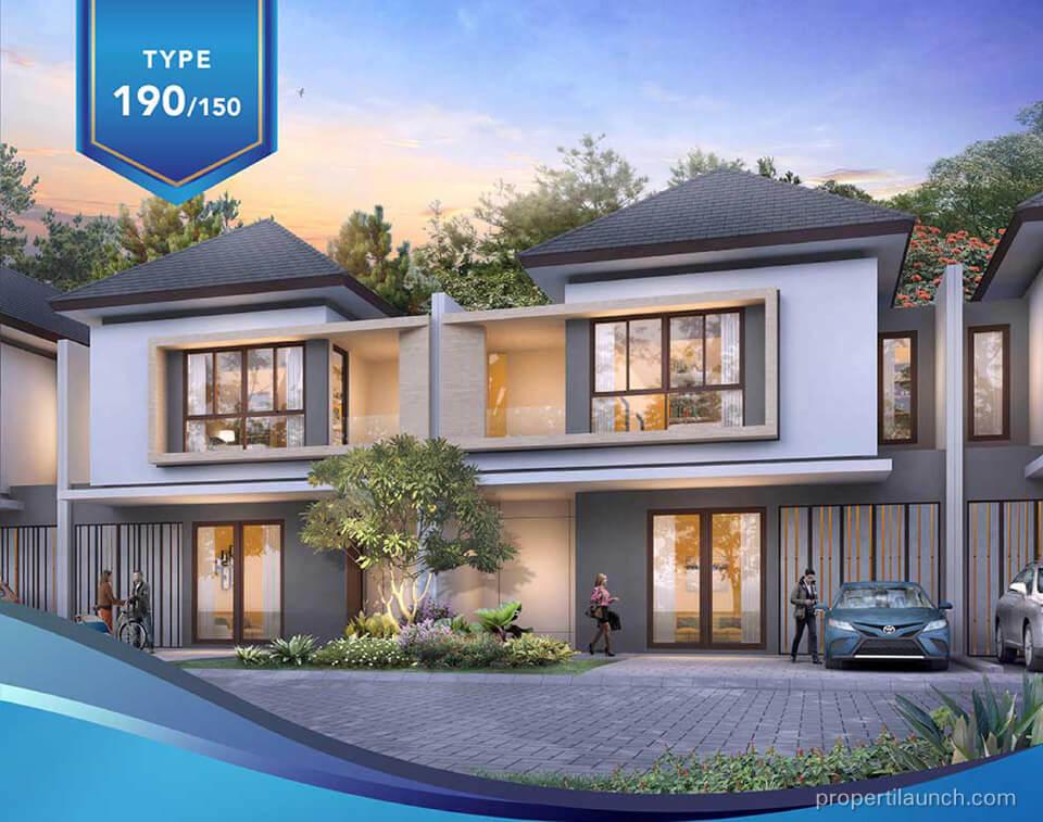 Rumah Amata Mozia BSD Tipe 150