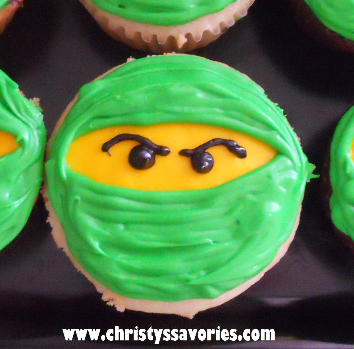 Christy S Savories Lego Ninjago Cupcakes Amp Cookies