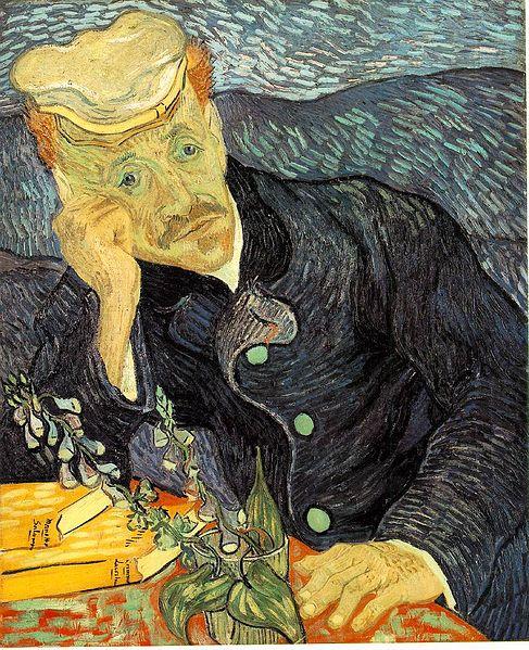 Aliran Expresionisme : aliran, expresionisme, Then:, Gogh's, Gachet