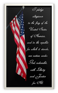 free patriotic printable flag pledge of allegiance