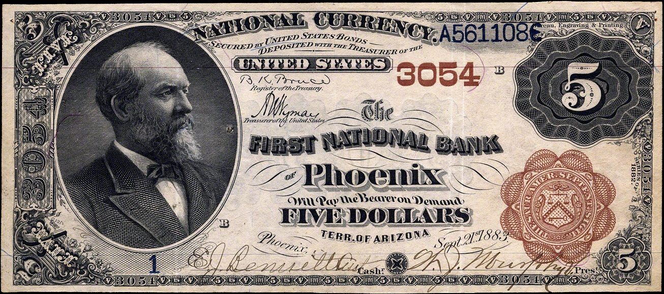 Arizona National Banknotes