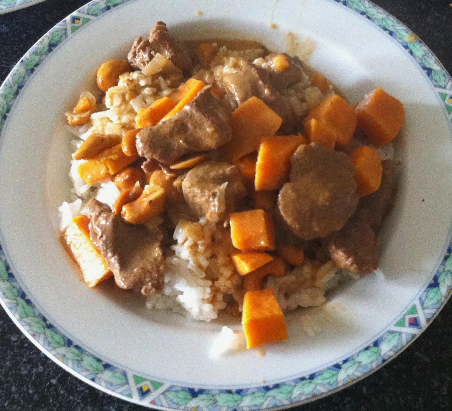 Massaman curry (Kaeng massaman)