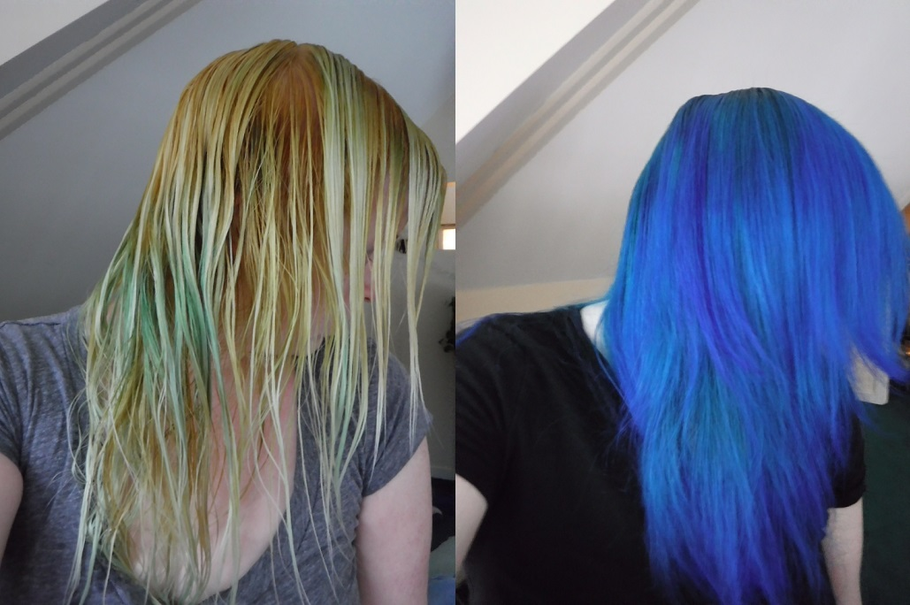 goodDYEyoung hair color review