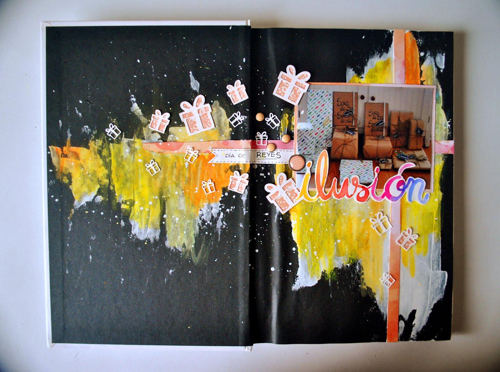 """12 meses, un Project Book"" ILUSIÓN. Scrapamundi"