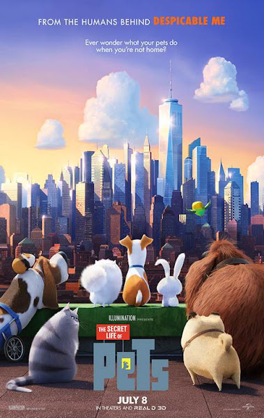 Poster Of The Secret Life of Pets 2016 720p Hindi BRRip Dual Audio Full Movie
