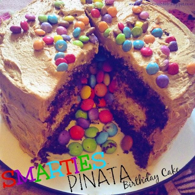 Smarties Birthday Cake Tesco