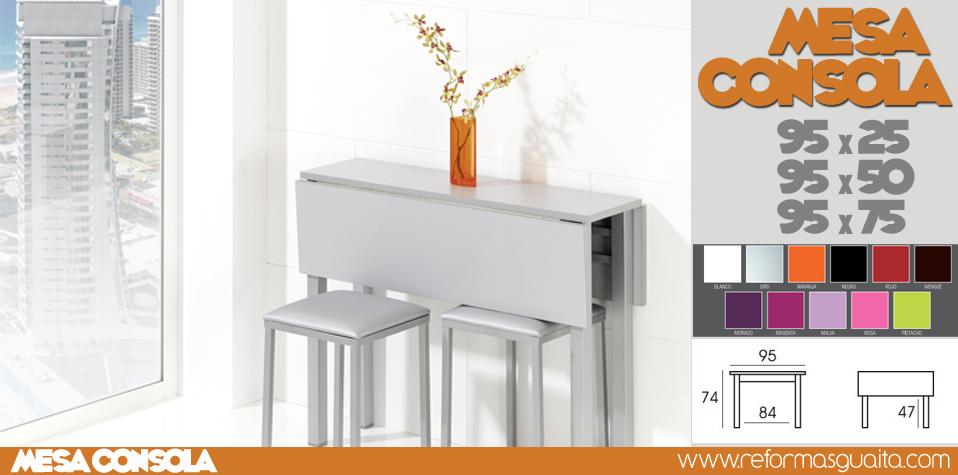 Mesa de cocina estrecha de 25 cms en color car interior for Ideas mesa cocina estrecha