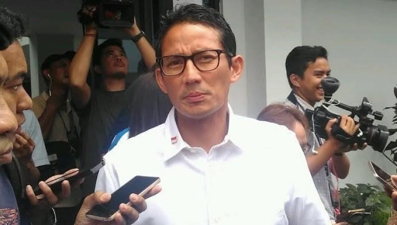 Cawagub DKI Jakarta Sandiaga Uno