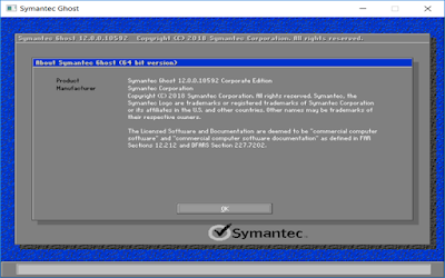 Symantec Ghost Boot CD 12.0.0.10630 (x64)