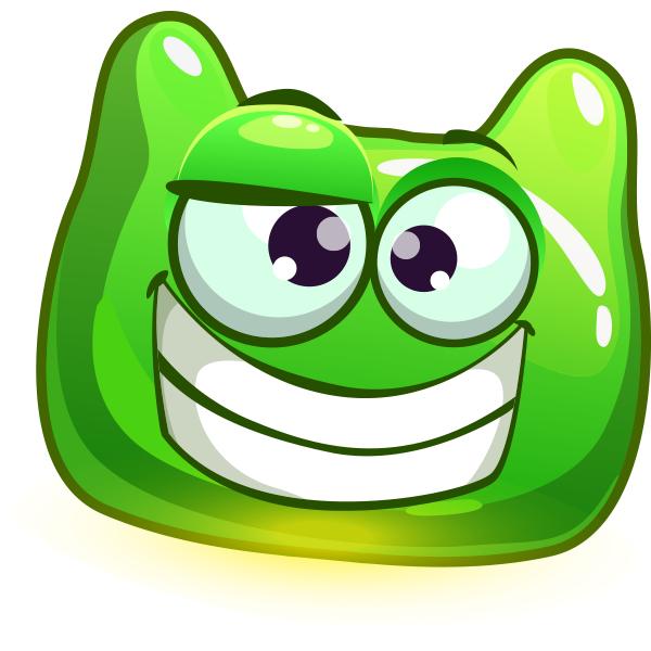 Weird Green Smiley for Facebook